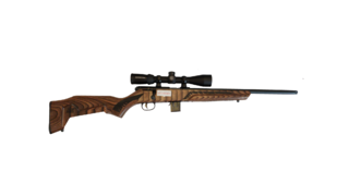 Savage Arms 17HMR Bolt Action Rifle w/ Crimson Trace Scope Combo